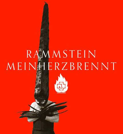 Rammstein MEIN HERZ BRENNT Single (2012)