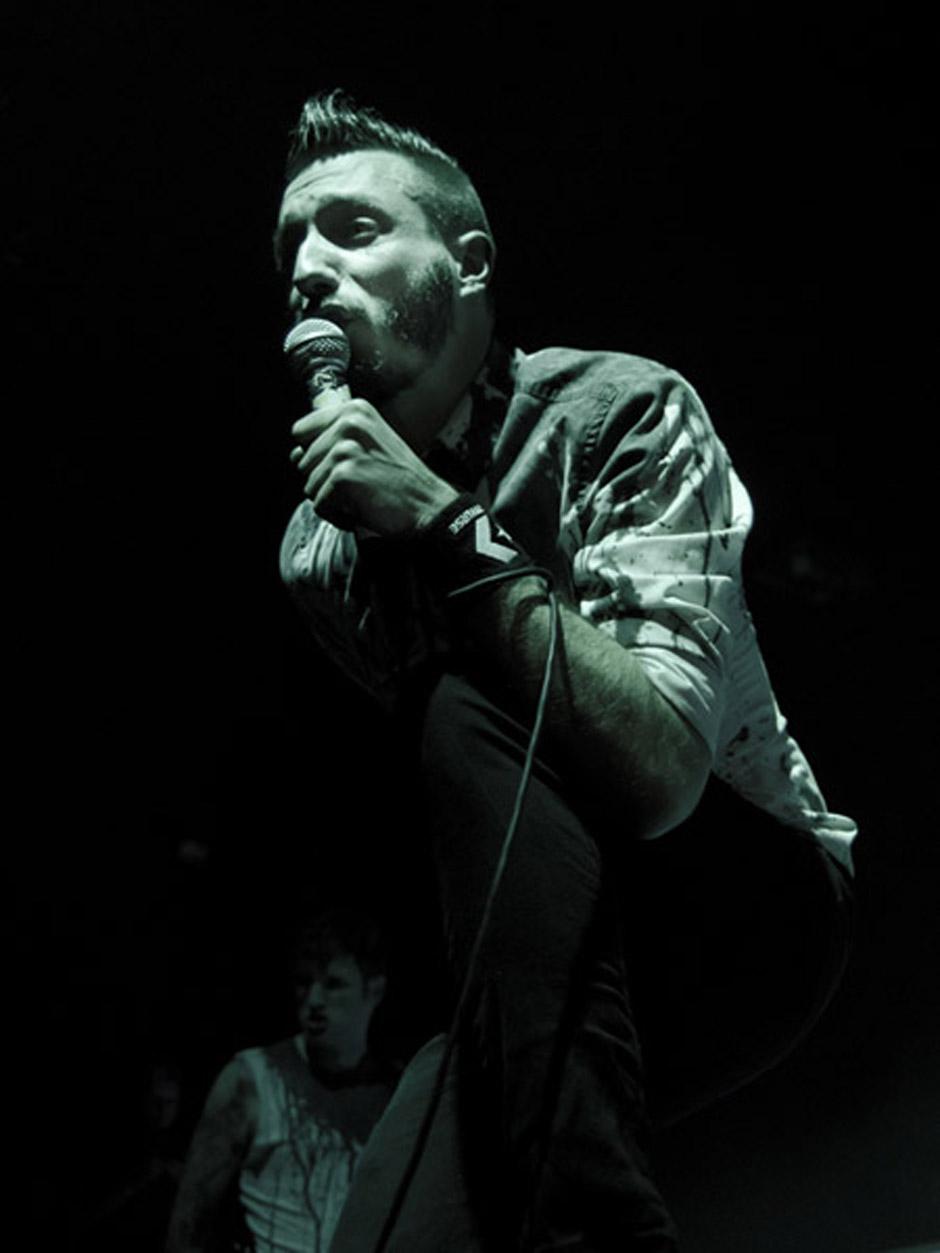 Caliban live, 8.11.2012, Hamburg