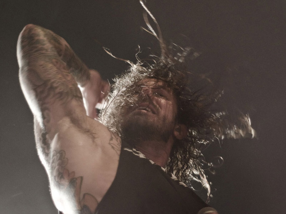 As I Lay Dying live, 8.11.2012, Hamburg