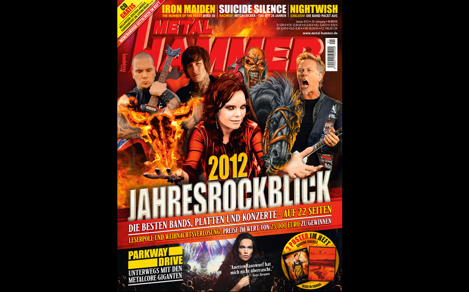 METAL HAMMER-Ausgabe 01/2013
