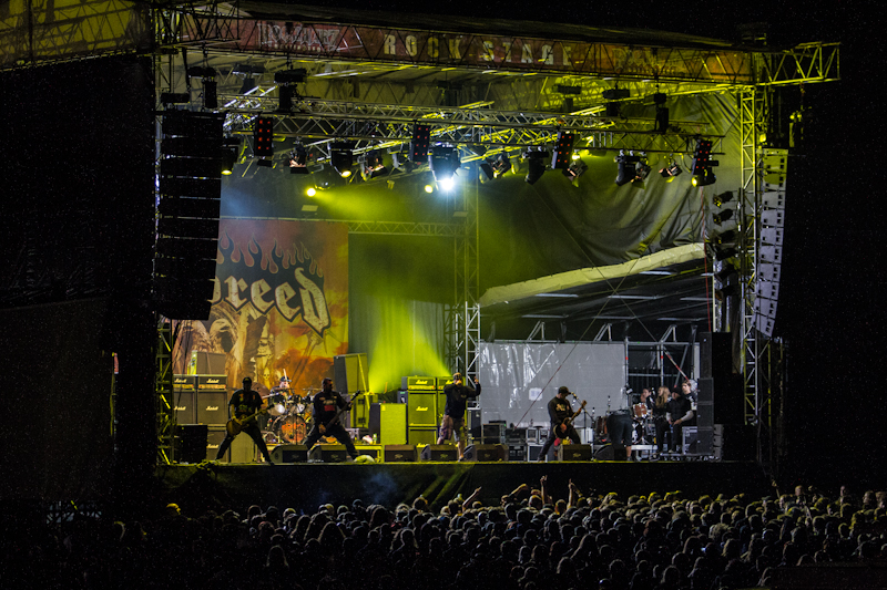 Hatebreed live, Rock Harz 2012