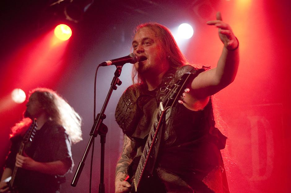 Orden Ogan live, 06.12.2012, Hamburg, Markthalle