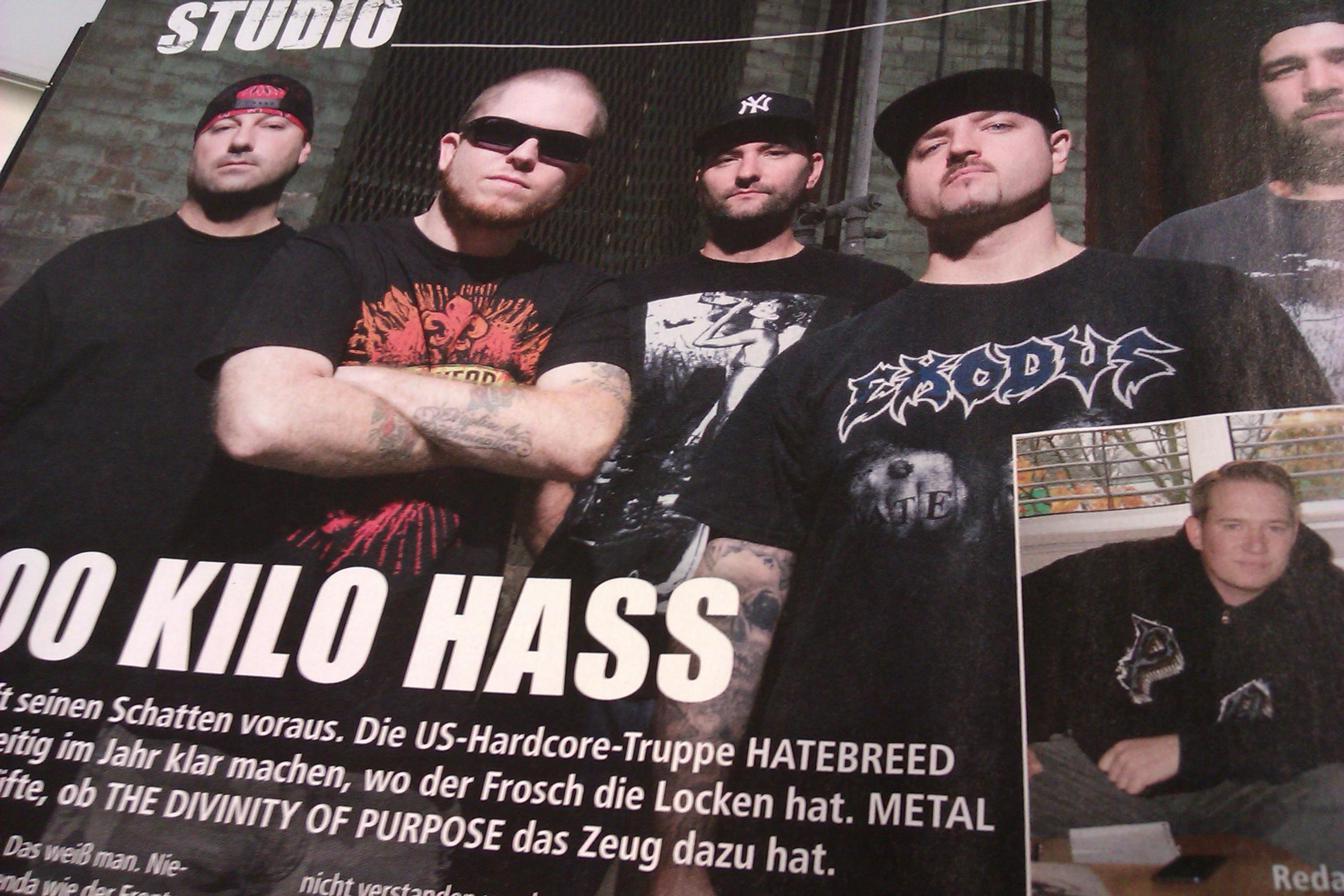 Hatebreed Hörprobe Des Neuen Albums The Divinity Of Purpose