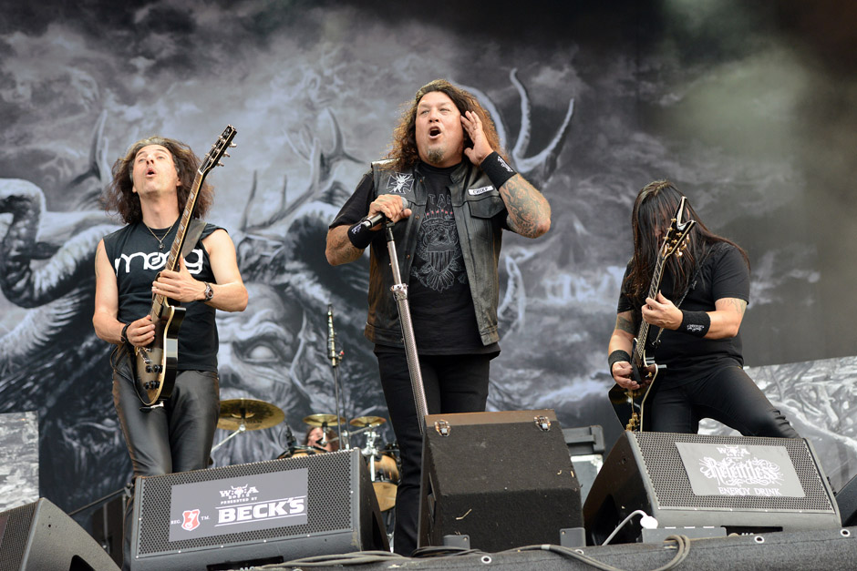 Testament live, Wacken Open Air 2012