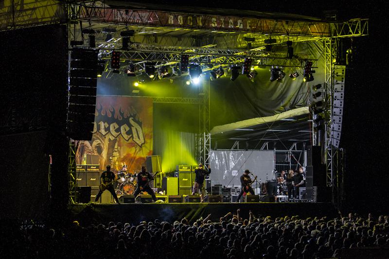 Hatebreed live, Rock Harz 2012
