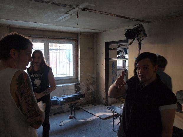 Callejon-Videodreh zu 'Porn From Spain 2'