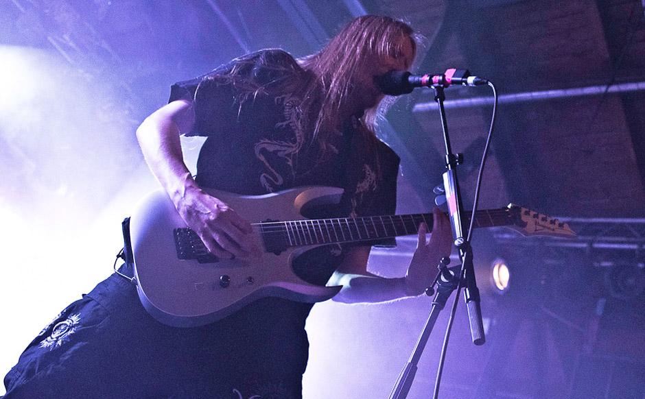 Wintersun live, 30.10.2012, Berlin, Postbahnhof