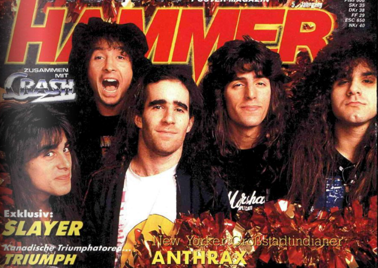 METAL HAMMER 01/1988