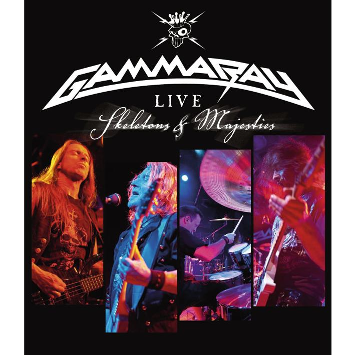 Gamma Ray :: Live: Skeletons & Majesties