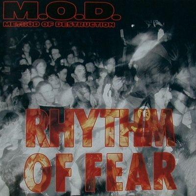 "Januar 1993 M.O.D. RHYTHM OF FEAR Was waren das für Zeiten, als ""Hardcore meets Rap"" den Soundcheck gewinnen konnte? Gut"