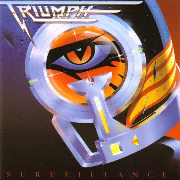 Januar 1988 Triumph SURVEILLANCE  Oft mit Rush verglichen, gelang es den Hard-Rockern in den siebziger und achtziger Jahren