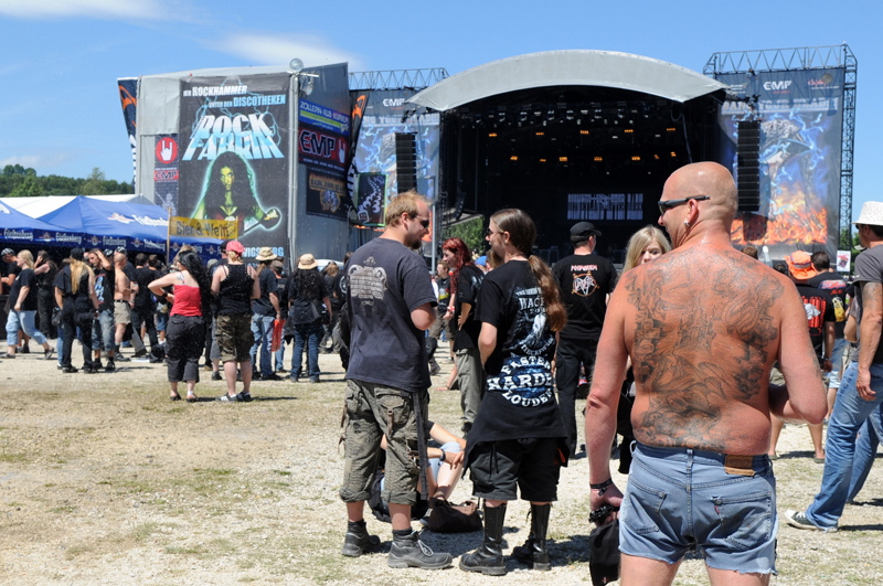 Bang Your Head 2011, Fans und Festival-Area