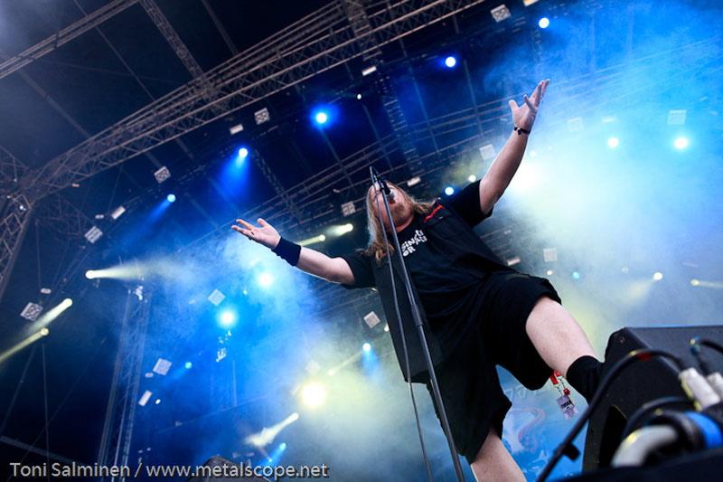 Forbidden, live, Tuska Festival 2011
