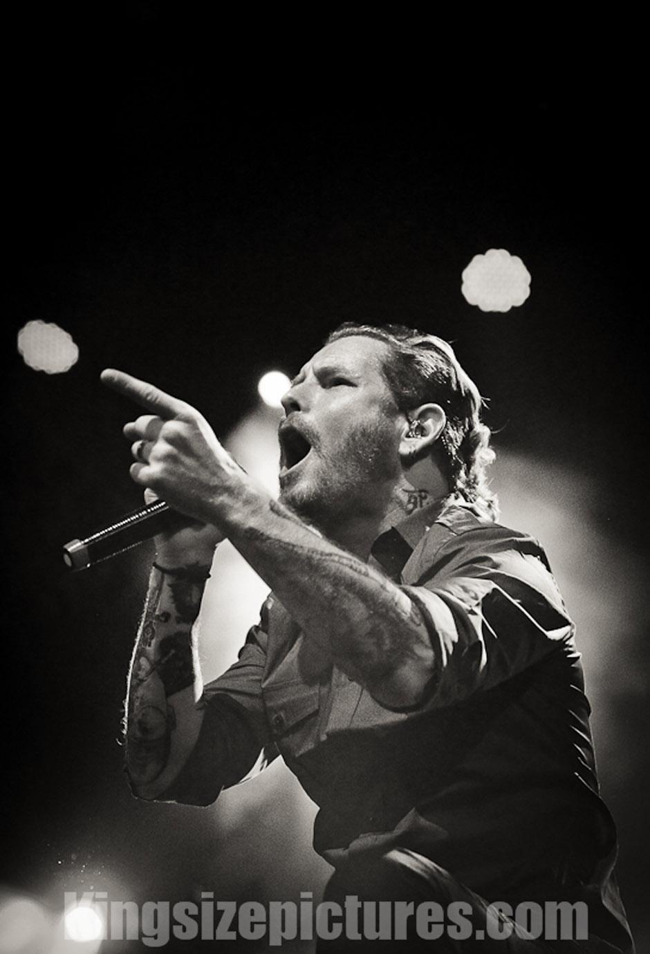 Stone Sour live, 30.11.2012, Wien