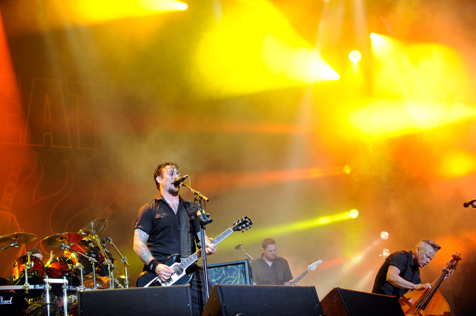 Volbeat live, Wacken 2012, 02.08.2012