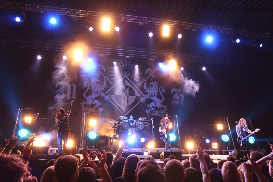 Machine Head live, Earshakerday 2012