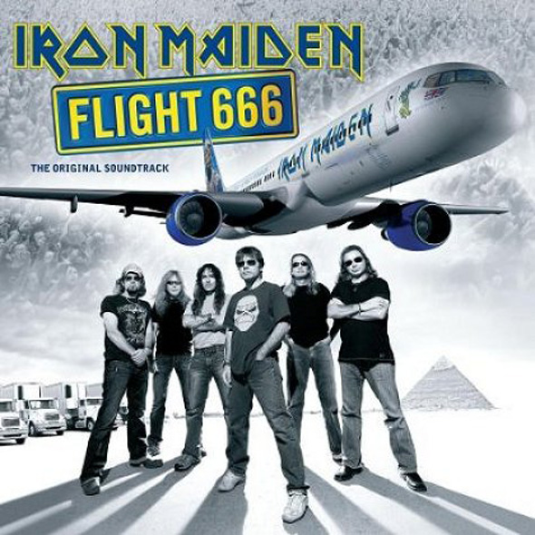 Iron Maiden, Flight 666, Cover