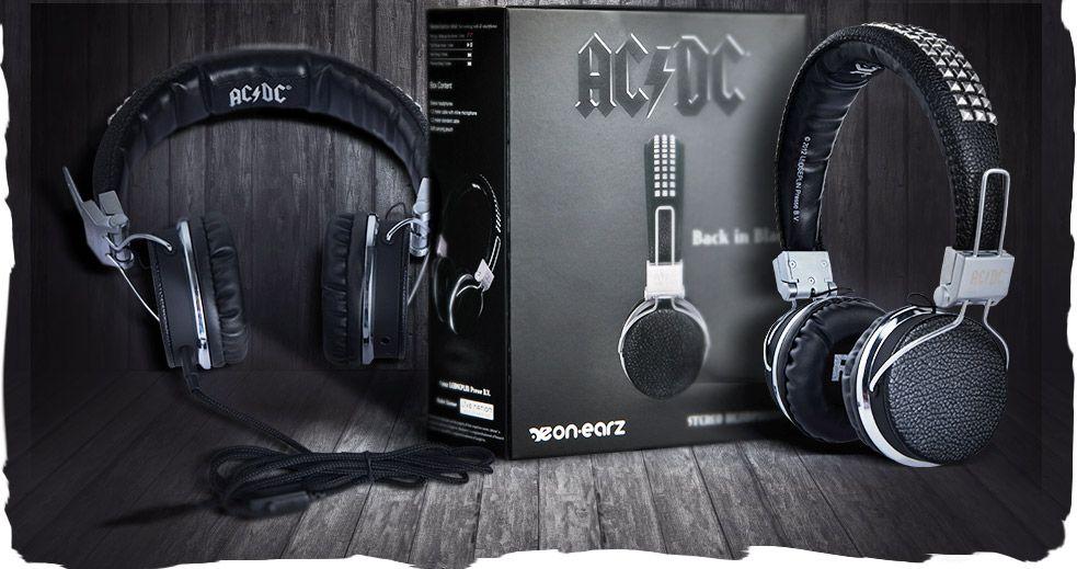 AC/DC Kopfhörer von On.Earz