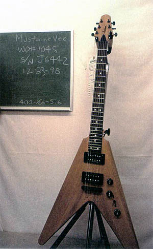 Dave Mustaine Jackson-Gitarre