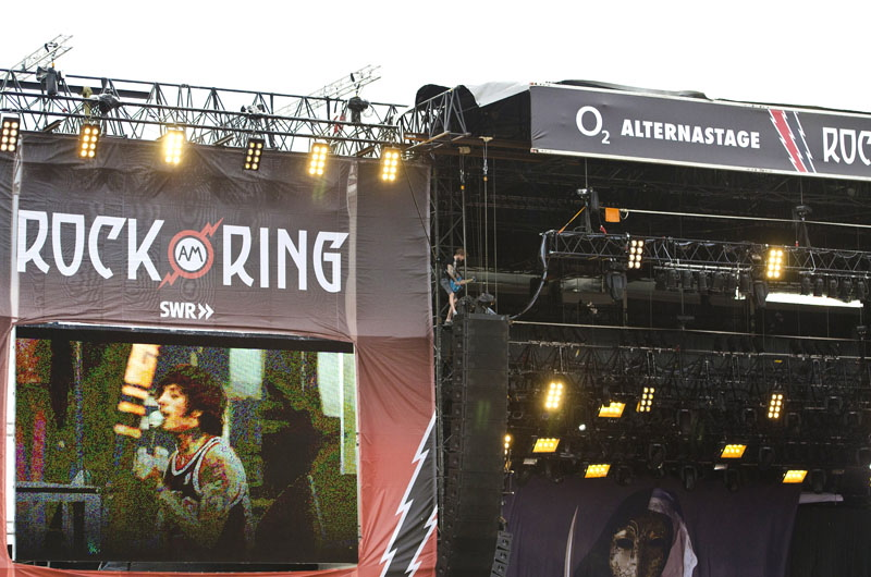 Bring Me The Horizon, live, Rock am Ring, 2011