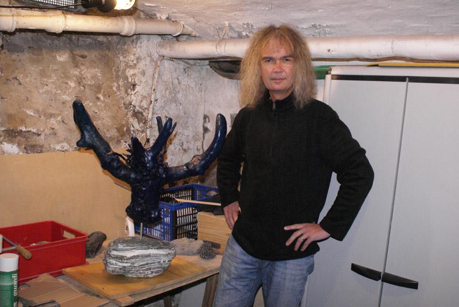 Die Wurzelkunst des Chris Boltendahl (Grave Digger)