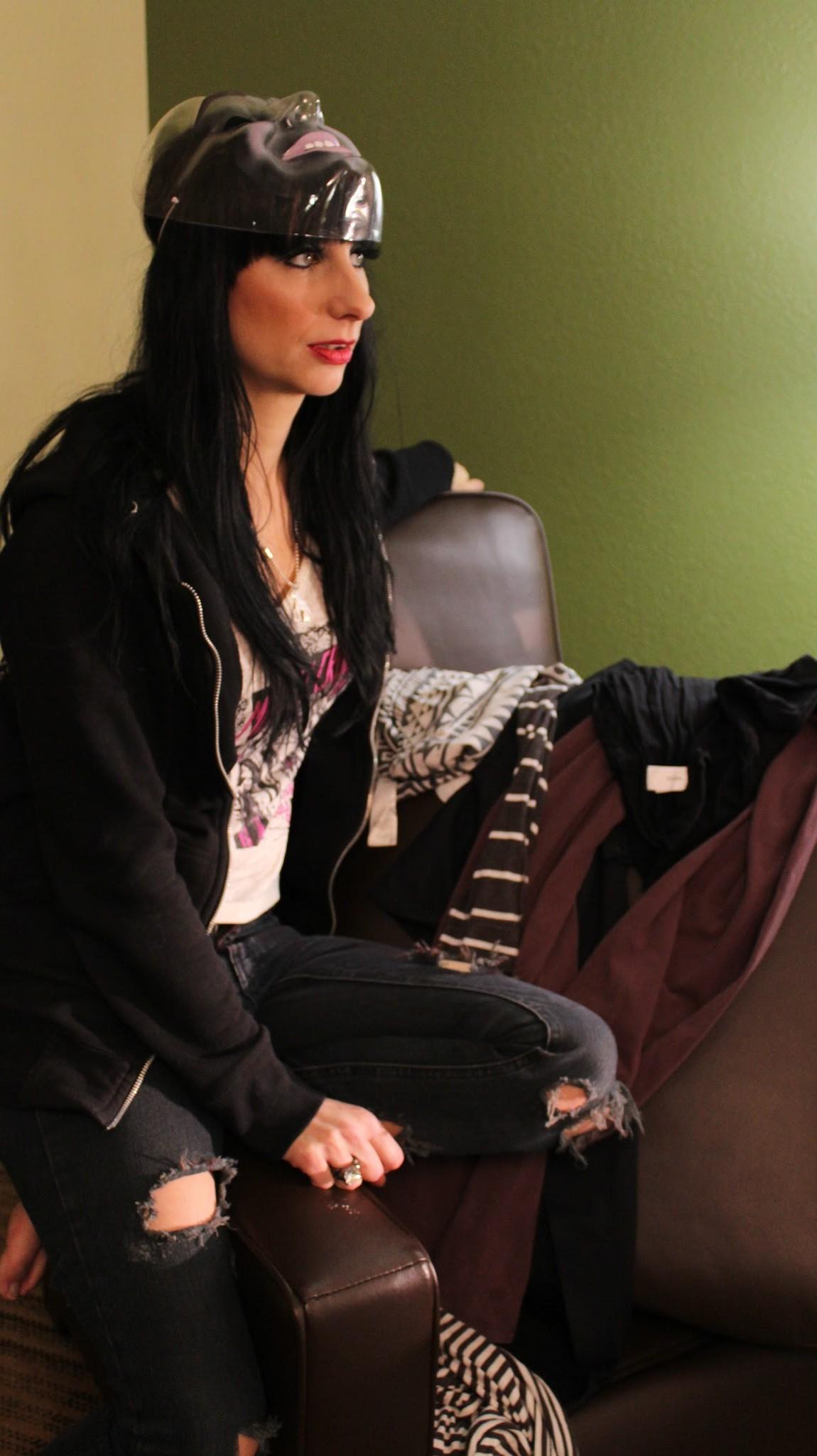 Sister Sin Videodreh zu 'Hearts Of Cold'