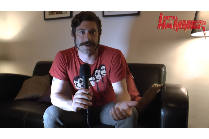 Wes Borland (Black Light Burns, Limp Bizkit) im Videointerview