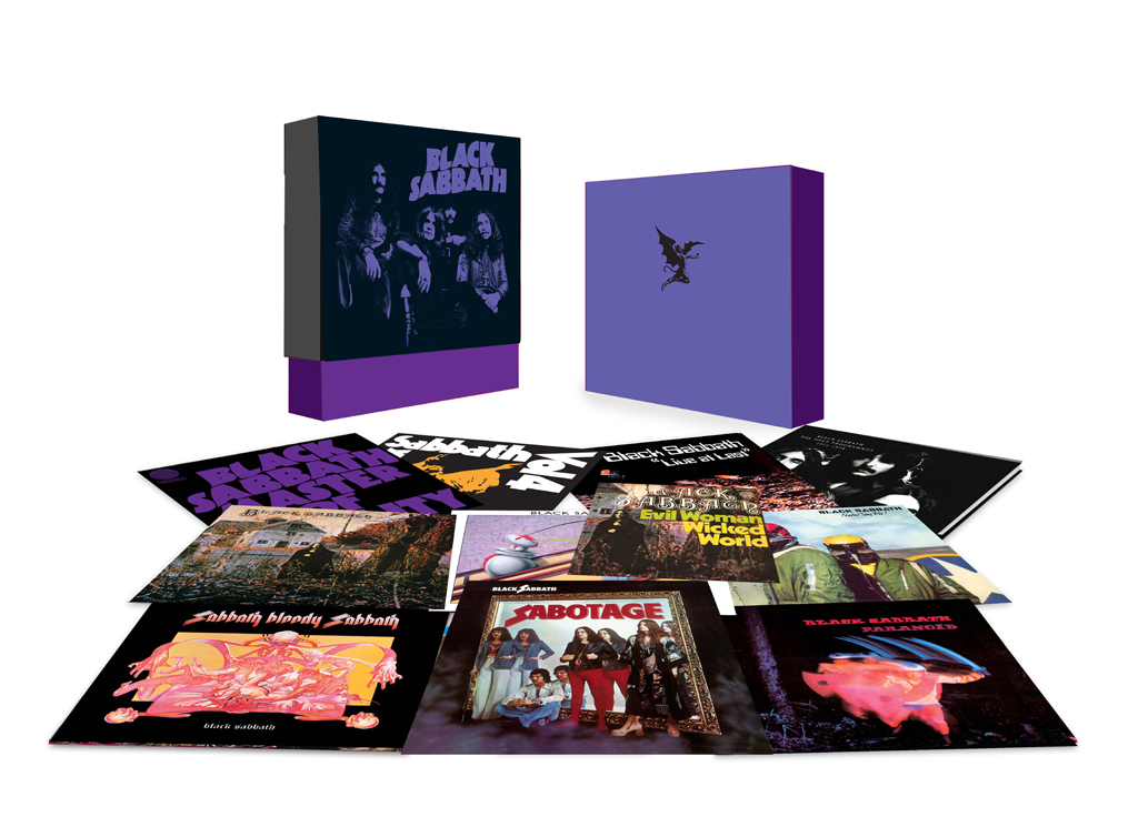 Black Sabbath THE VINYL COLLECTION 1970-1978