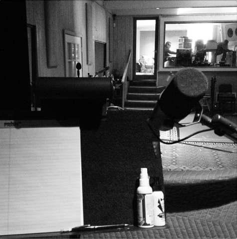 Foto aus dem Black Sabbath-Studio