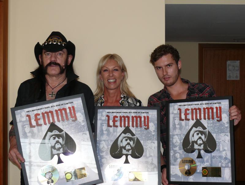 Lemmy erhält Gold für die Motörhead-Doku