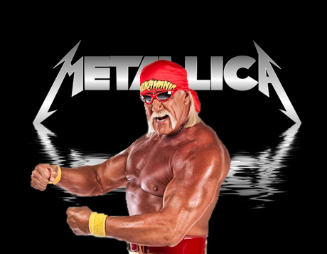 Hulk Hogan For Metallica