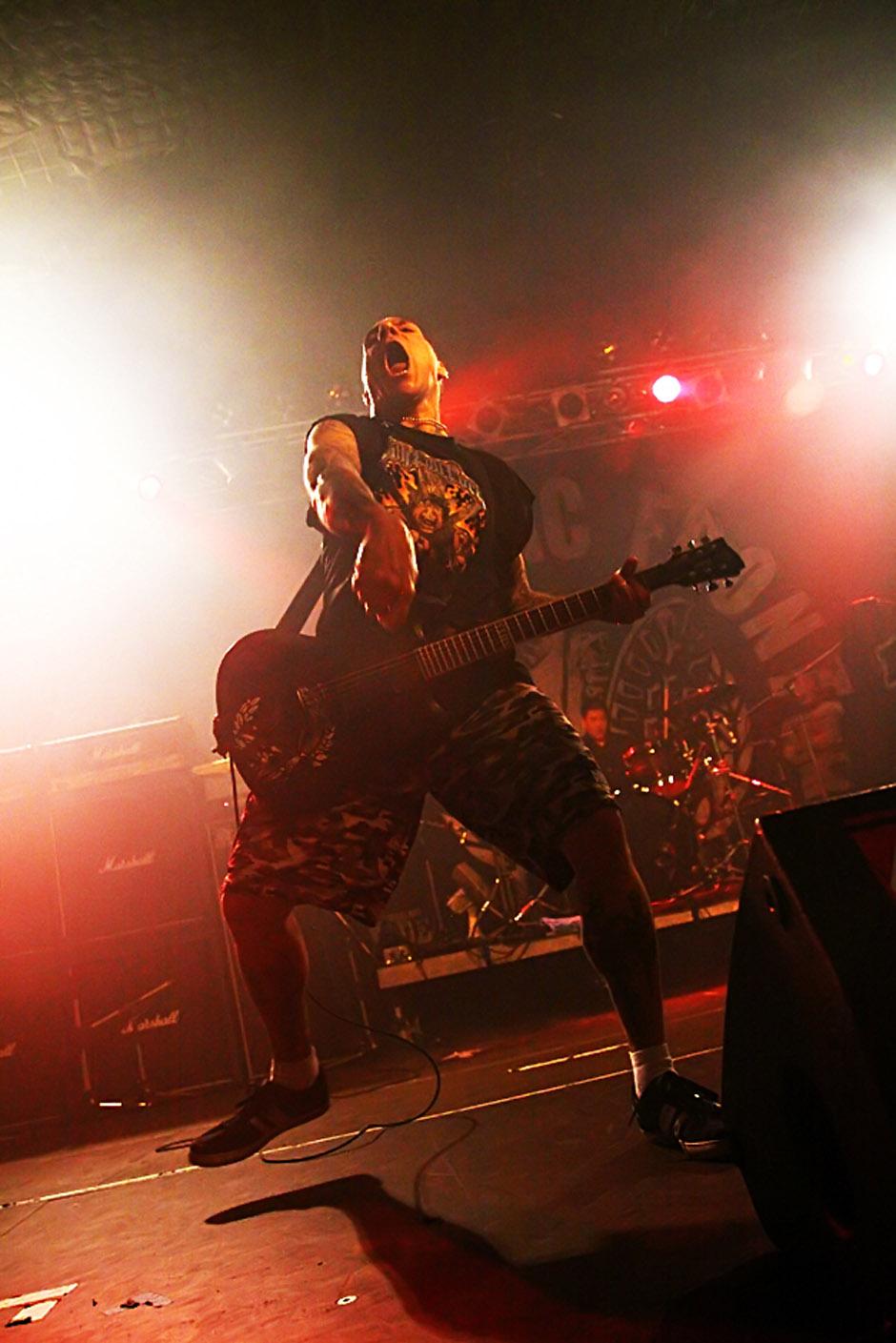 Agnostic Front live, 17.01.2013, Stuttgart, LKA Longhorn