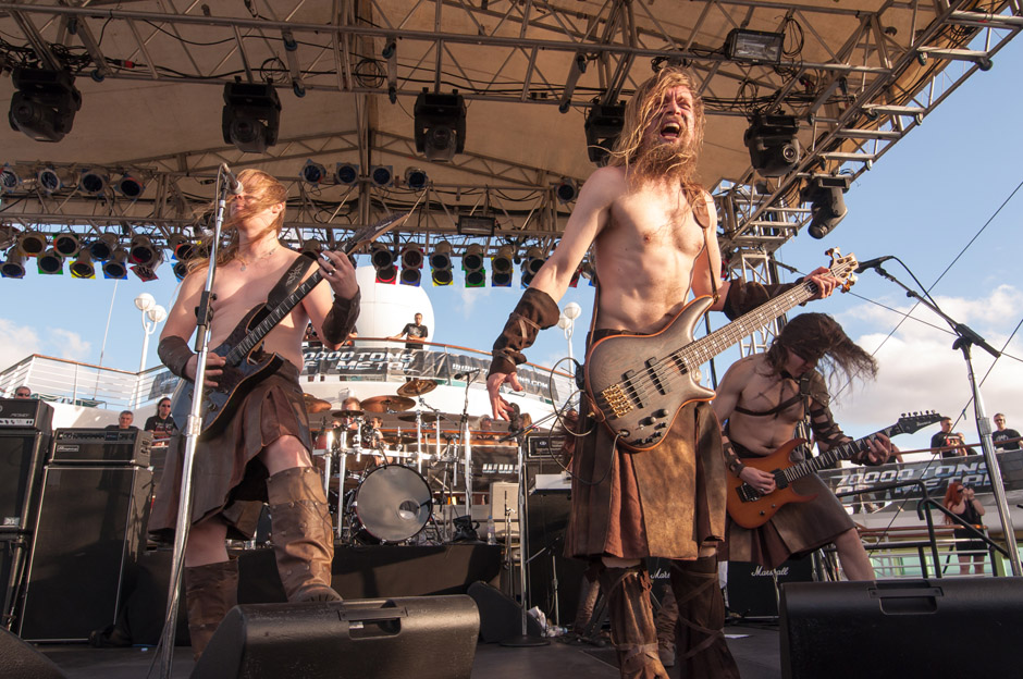 Ensiferum, 70000 Tons Of Metal 2013