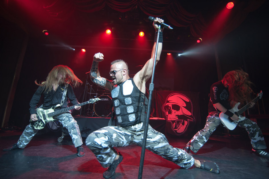 Sabaton, 70000 Tons Of Metal 2013