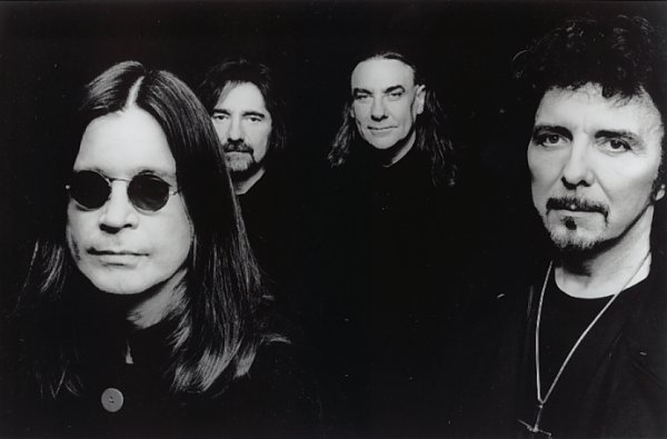 Black Sabbath Promo Bild zu 'The Last Supper'