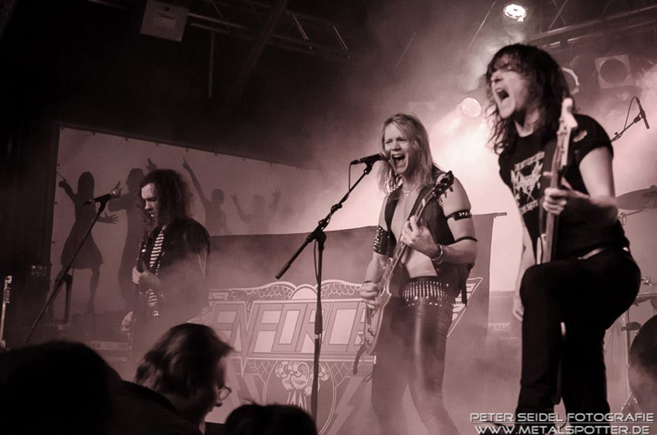 Enforcer live, 14.02.2013, München