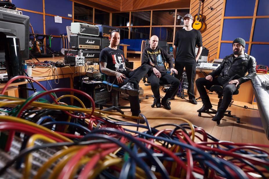 Volbeat im Studio