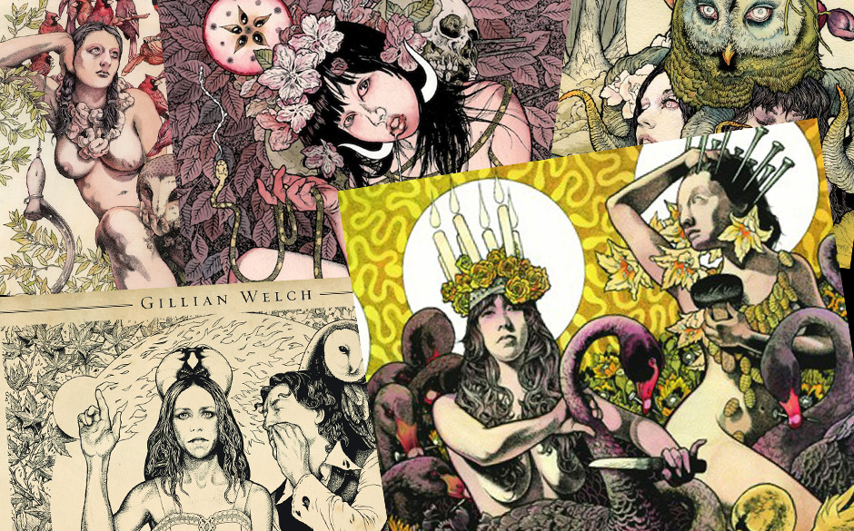 Die Cover-Kunst des John Dyer Baizley