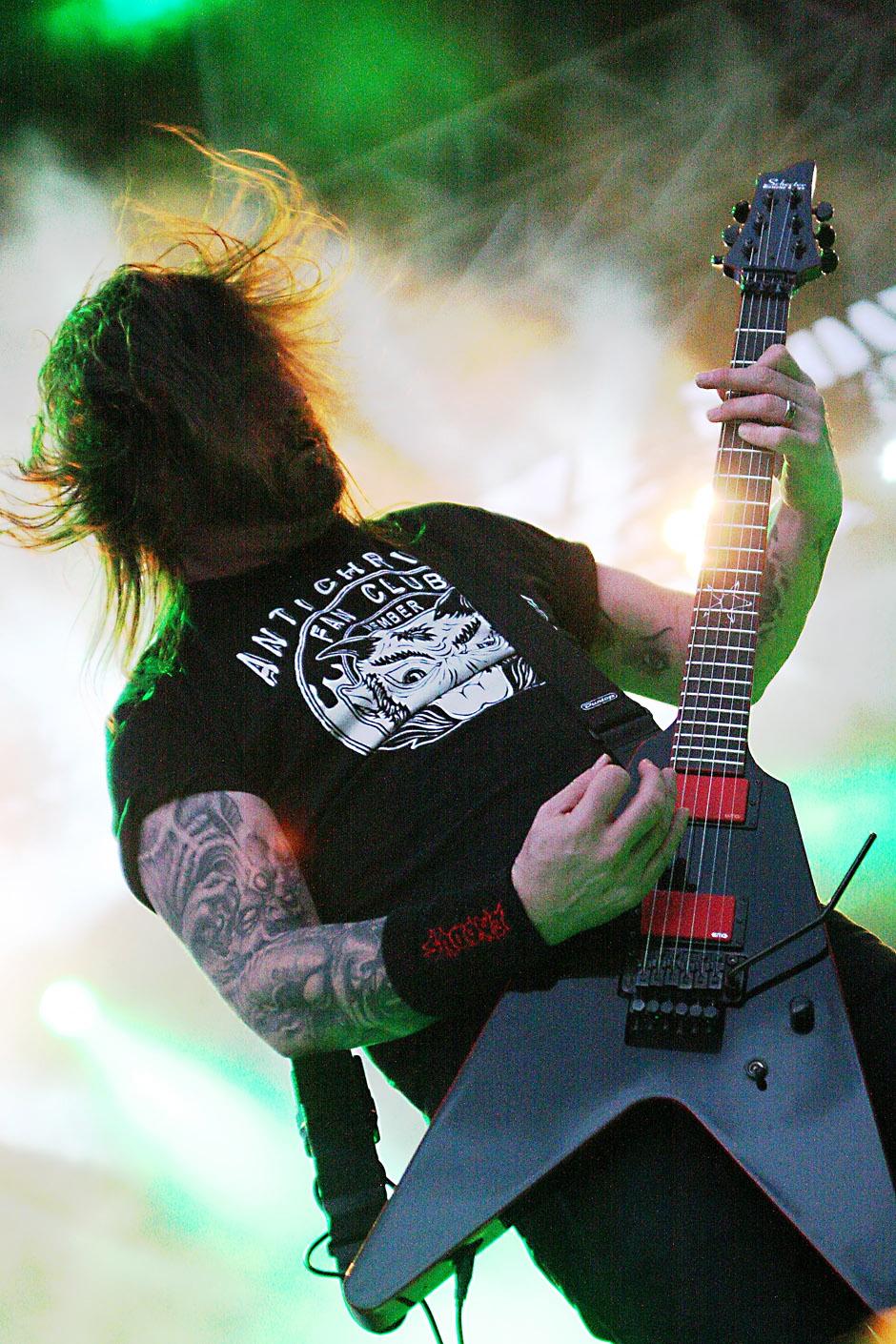 Slayer am Vainstream 2012
