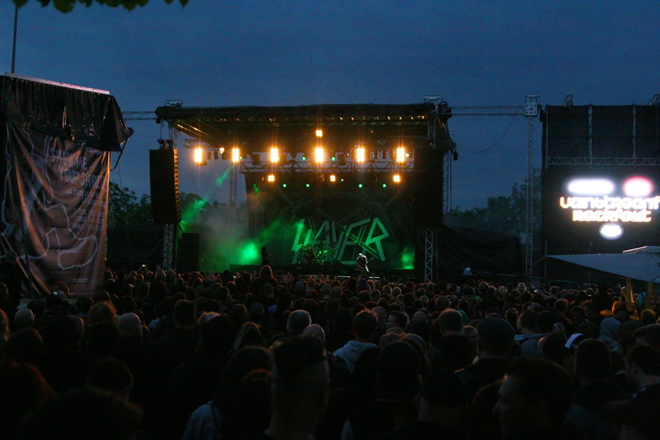 Slayer am Vainstream 2012