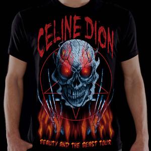 Celine Dion Söft Metal-Shirt