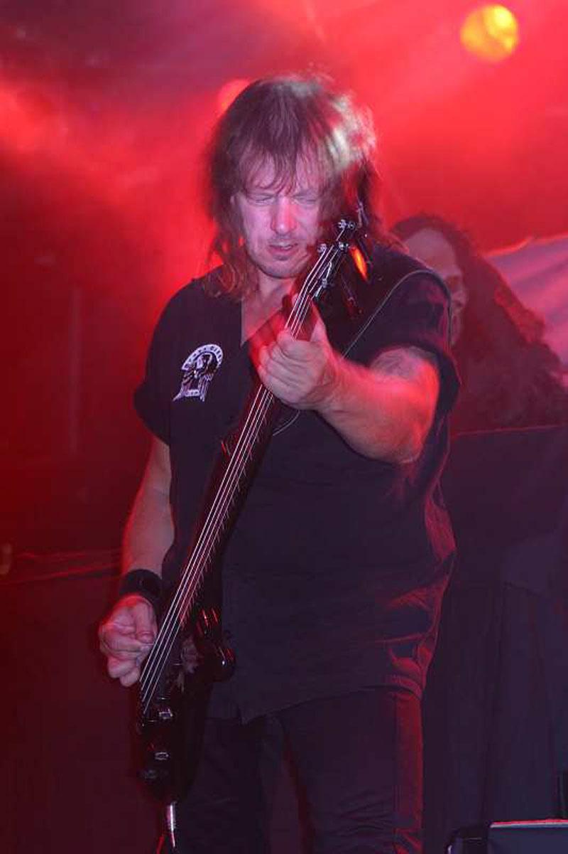 Grave Digger, live, 08.09.2011, München, Backstage