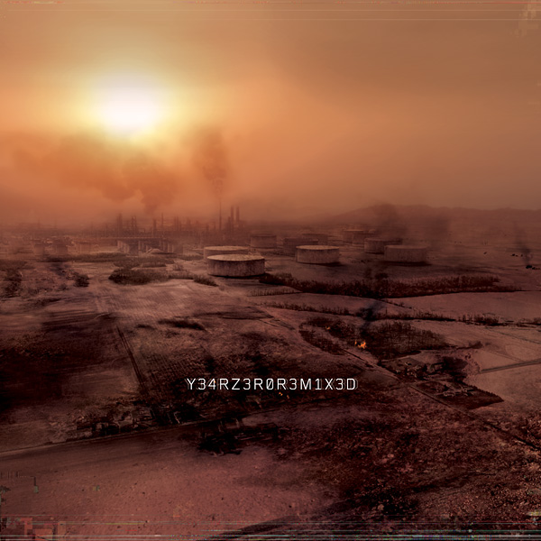 Nine Inch Nails, Y34RZ3R0R3M1X3D, Cover