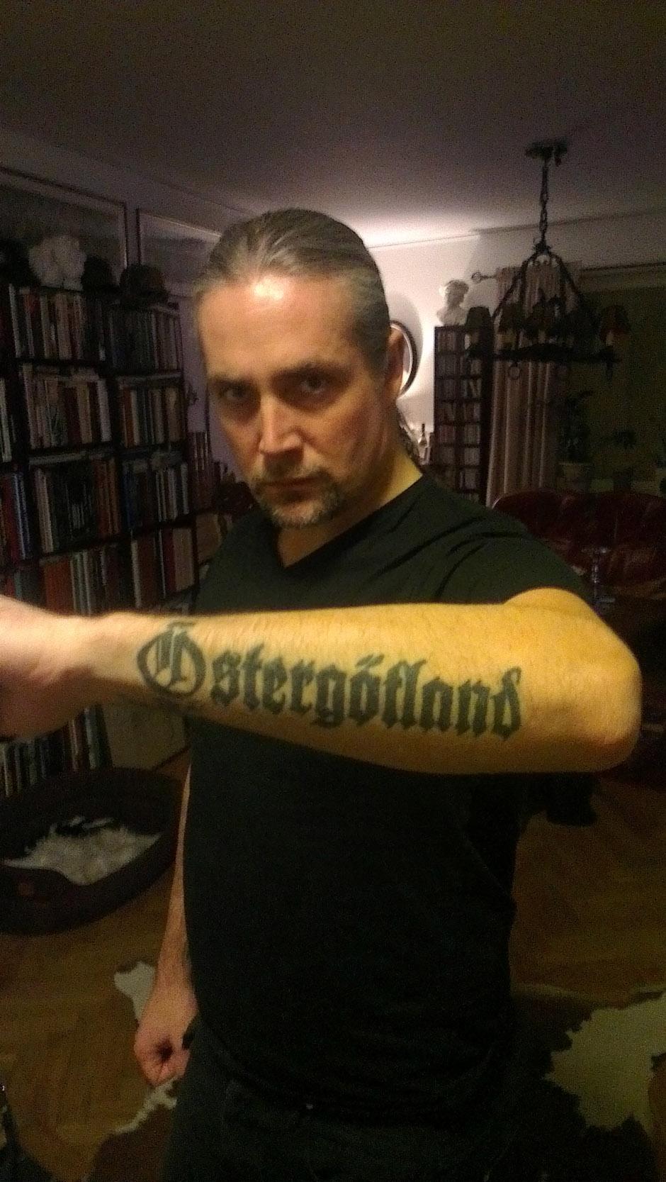 Die Tattoos von Morgan Hakansson (Marduk)