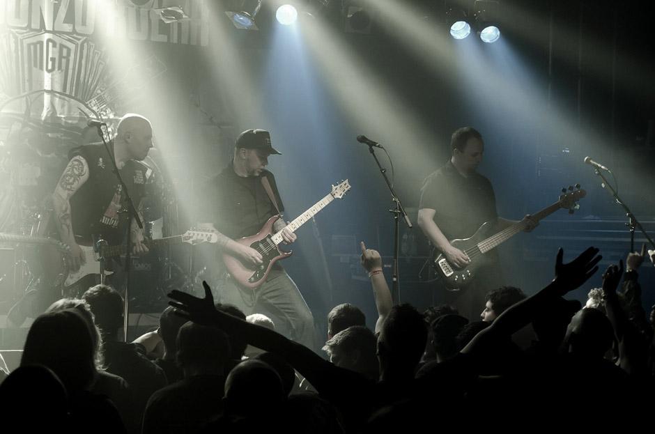Matt Gonzo Roehr live, 23.02.2013, München, Backstage