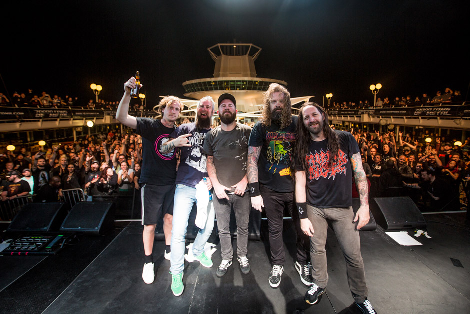 In Flames, 70000 Tons Of Metal 2013