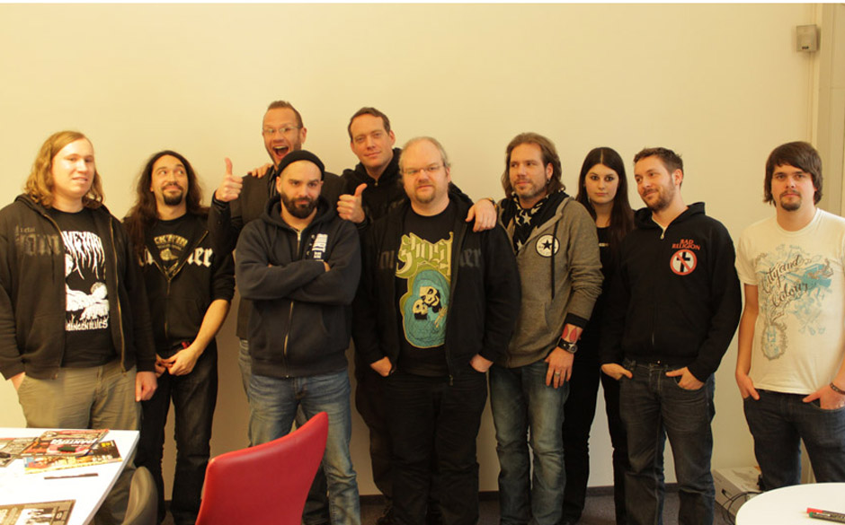 Killswitch Engage in der METAL HAMMER-Redaktion