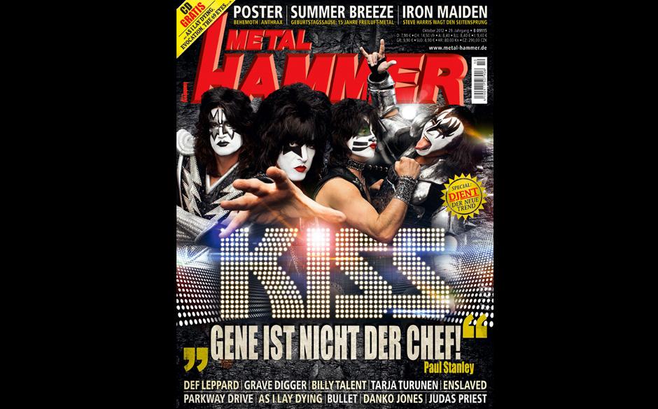 Schlimmstes METAL HAMMER-Titelbild 2012: Kiss Oktober 2012