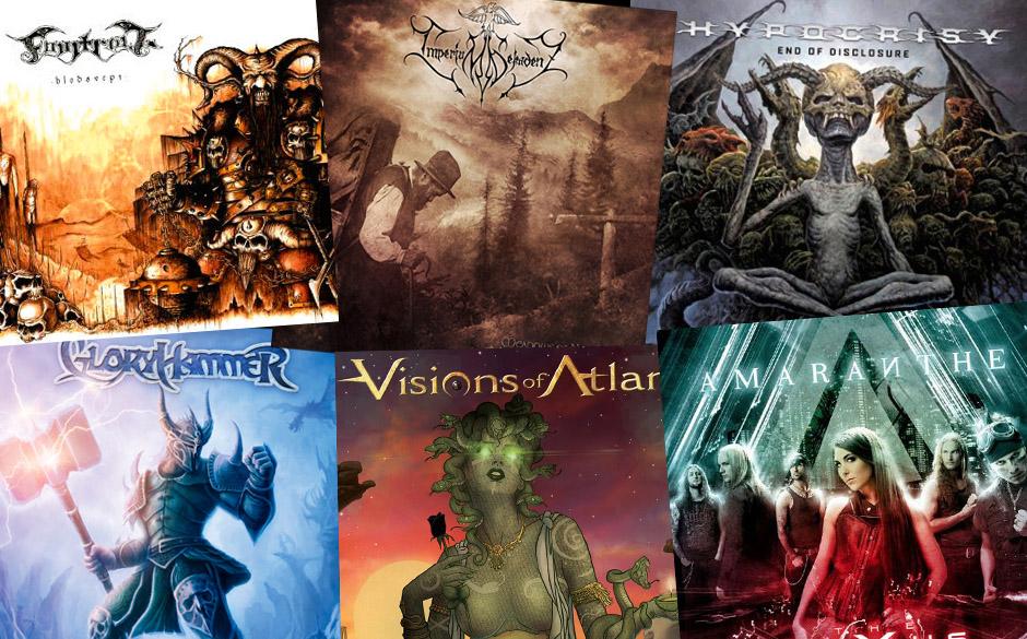 Klickt euch hier durch die neuen Metal-Alben vom 22.03.2013...