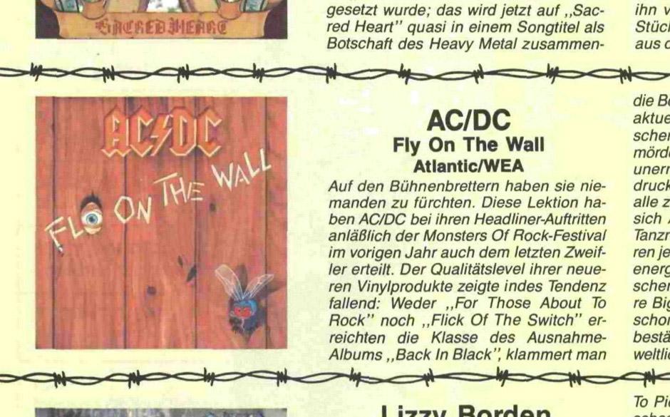 Klassische AC/DC-Reviews aus 30 Jahren METAL HAMMER